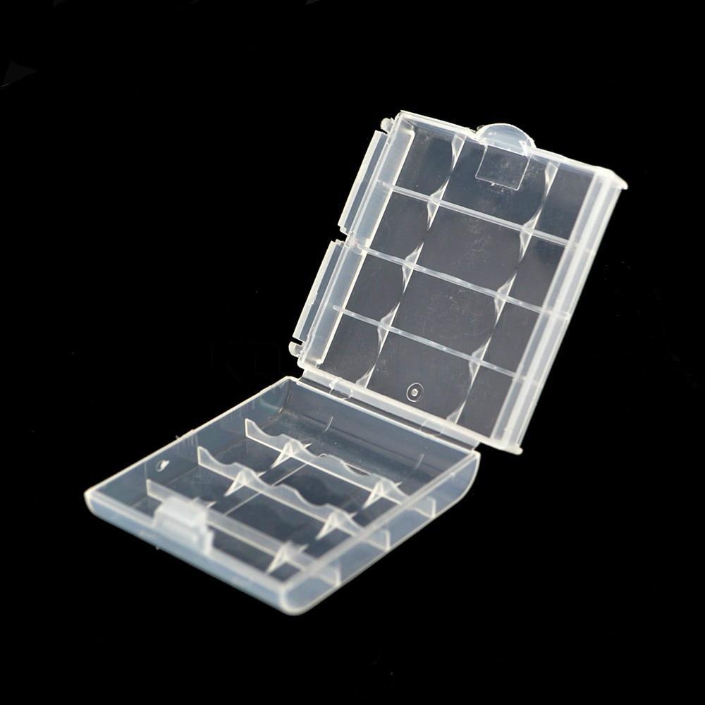Brand New 1 Pcs Hard Plastic Battery Storage Box 5 Color Environmental Safe  Battery Holder 4 AA AAA Battery Case 14500 10440 In Battery Storage Boxes  From ...