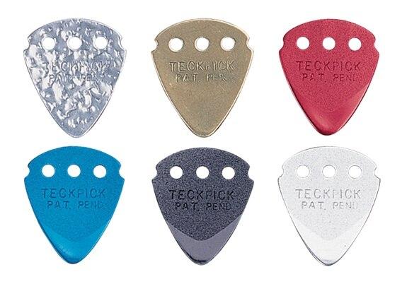 Dunlop Aluminum/ Brass TECKPICK Standard Guitar Picks, 1/piece