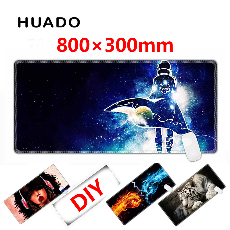 DIY Custom Gaming Mouse Pad for gamer mouse mat  800*300mm mousepad for steelseries/overwatch/world of warcraft/csgo/virtus pro