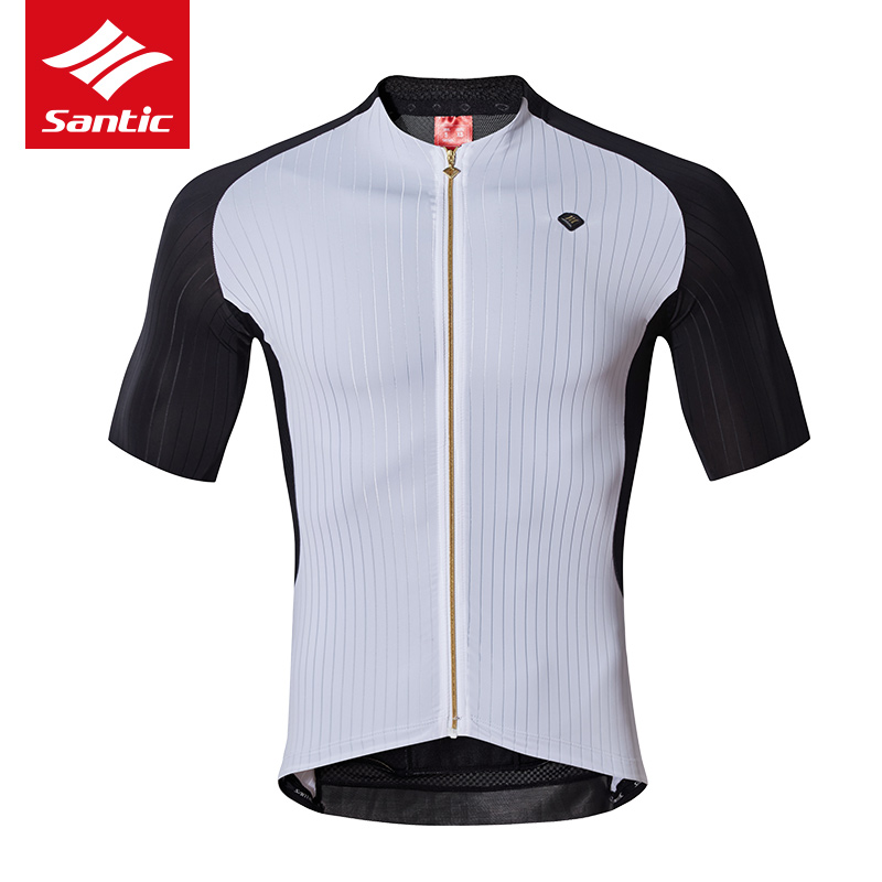 Santic TOP Cycling Jersey Italy Imported Fabric Men Pro Team Mountain Road Bike Bicycle Jersey Cycling Clothing Ropa Ciclismo santic men cycling jersey comfortable breathable pro racing team mtb road bike jersey downhill bicycle jersey ropa ciclismo 2017