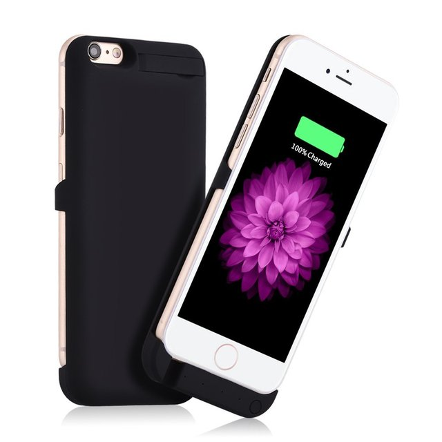 """For iPhone 6 6S 4.7"""" Power Case 3000mAh External Backup Battery Power bank Mobile Charger Battery Cover Cell Phone Battery Case"""