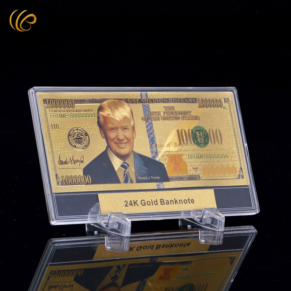Trump-Fake-Money-10pcs-lot-New-Fashion-Unique-Verson-America-One-Million-Dollars-Gold-Foil-Plated