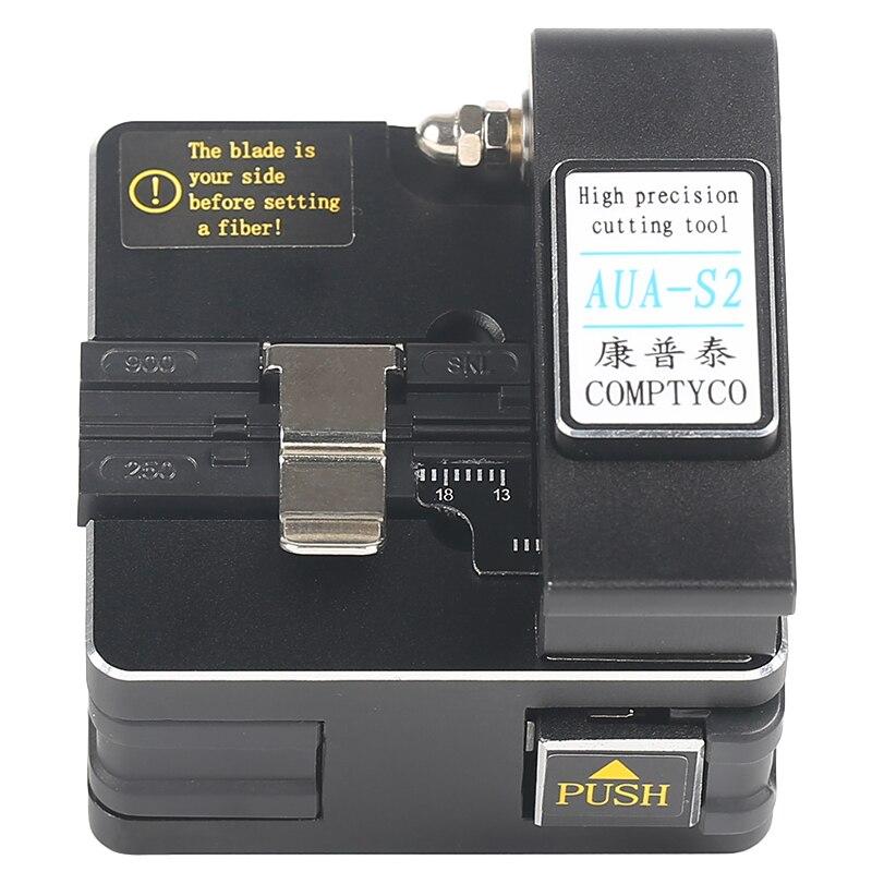High Precision AUA-S2 Optical Fiber Cutter Optical Fiber Welding Machine Cutting Machine To Send Anti-falling Pack
