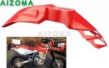 ABS Plastic Frente Fender Mudguards Offroad Motocross Da Bicicleta Da Sujeira Dupla Esporte Universal Para Yamaha Honda XR400 XR650L CRF250 CRF450