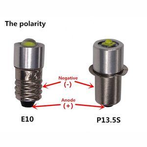 Image 3 - LIGHEART LED Upgrade Bulb For D+C cell flashlights P13.5S CREE XPG2 0.5W 1W 3W 5W 3V DC4 12V/6 24V LED Replacement Torch Bulbs