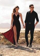 Velvet Maxi Backless Dress