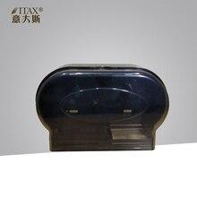 X-3396 Две рулон бумаги, диспенсер настенный ABS пластика домашние туалет отель держатель для бумаги двойной рулон бумажных полотенец