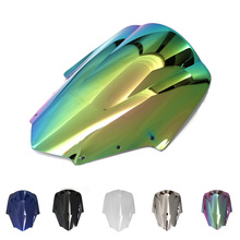 цена на Motorcycle Windscreen/Windshield Screen Protector Double Bubble For Yamaha FZ1S 2006 2007 2008 2009 2010 2011
