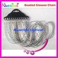 free shipping L809  nice pearl beaded  sunglasses chain eyewear chain glasses cords
