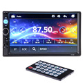 Universal 2 din Car Multimedia Player 7 ''FM Estéreo Bluetooth rádio Vídeo Áudio MP3 MP4 MP5 USB AUX Auto Eletrônica autoradio