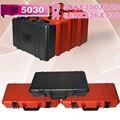 20 4 дюймов черный PP пластиковый ящик для инструментов carring ящик для инструментов с пеной
