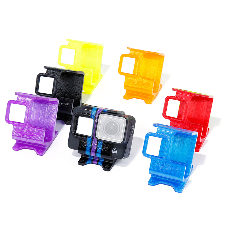 iFlight 3D Printed TPU Camera Seat Holder for gopro hero 5/6/7 with ND8 lens Filter XL/XL Lowrider V3 Series Drone