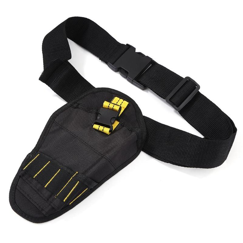 Toolkit Screwdrivers Drill Wrench Storage Tool Bag Waist Pack+Waist Strap