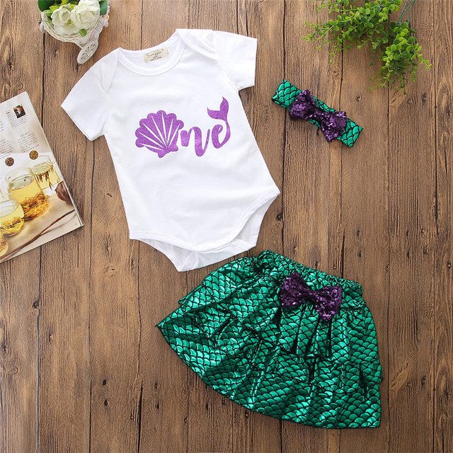 efd8104cbacc7 US $7.73 26% OFF|MUQGEW 2019 Hot Sale Toddler Baby Kid Girl Print Palta  Letter Short Clothes Top Romper Tutu Skirt Outfit Dropship Baby Clothes-in  ...
