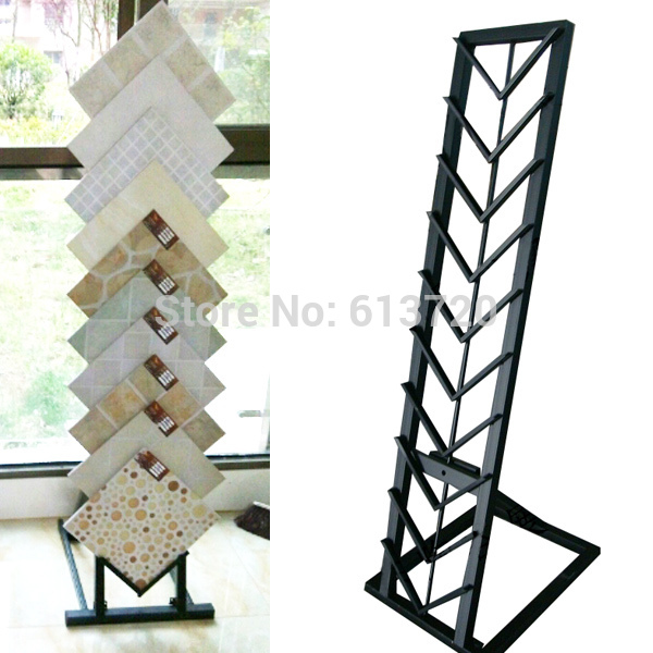 Sample Shelf For Marble Exhibition Stand For Tile Display
