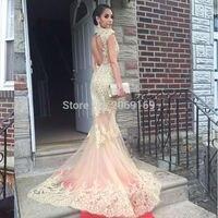 Арабская, Дубай robe de soiree с рукавами крылышками, платье для выпускного вечера, Золотое кружевное вечернее платье с открытой спиной, платье аб