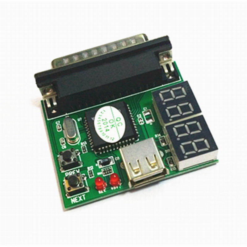 New 4-Digit PC Analyzer Motherboard Diagnostic Tester USB Post Test Card