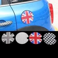 1pc Crystals Sticker Auto Fuel Tank Cover Decal For Mini Cooper Clubman Countryman F56 F55 R56 R55 R60