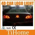 Free Shipping  VW Tiguan Passat 4D LED CAR LOGO LIGHT/LAMP,4D LED car badge lamp for VW Tiguan Passat