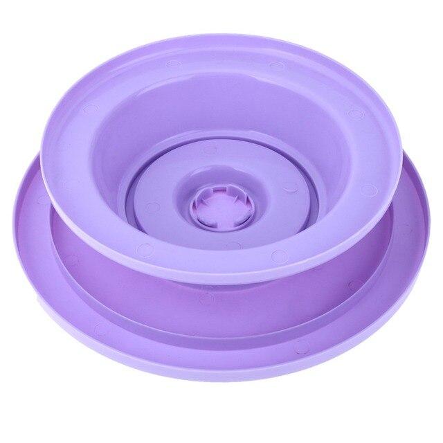 28cm Plastic Cake Turntable Rotating Anti-skid Cake 2