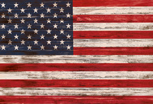 Vinyl Photography Background American Independence Day United States Flag Children Backgrounds for Photo Studio G-341