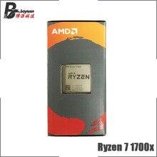 AMD Ryzen 7 1700X R7 1700 × 3.4 Ghz の 8 コア Cpu プロセッサ YD170XBCM88AE ソケット AM4
