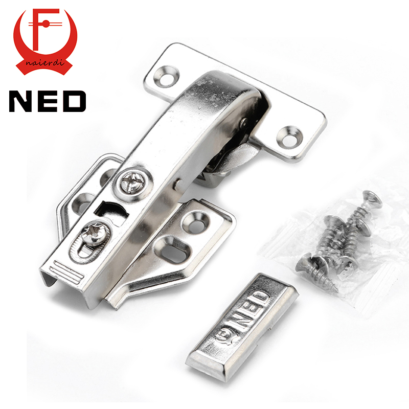 10PCS NED 90 Degree Hydraulic Hinge Angle 90 Corner Fold Cabinet Door Hinges Furniture Hardware For Home Kitchen Cupboard stainless steel door hinges hydraulic buffer automatic closing door spring hinge 125 78mm furniture cabinet drawer hardware