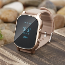 GPS Tracker Watch Mobile Phone for Kids Old Man with Best Touch SOS Function Smart Watch for Kids or Old Man for Android iOS