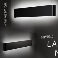5pcs/lot Minimalist Aluminum Modern LED Toilet Mirror Lighting AC90 260V Mounted Industrial Wall Lamp Bathroom Light Waterproof