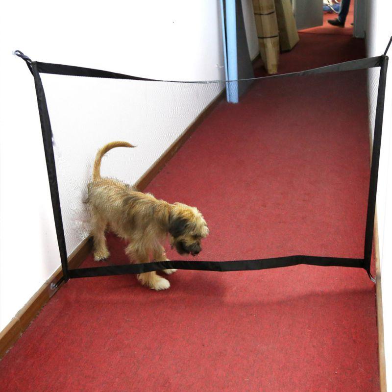 Hund Tor Die Geniale Mesh Pet Tor Für Hunde Safe Guard Installieren Haustier Hund Sicherheit Gehäuse Hund Zäune Baby Zaun pet Produkte