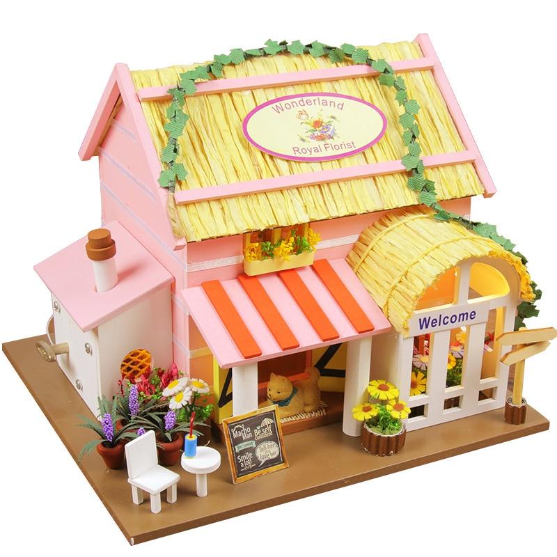 puppenhaus diy-kaufen billigpuppenhaus diy partien aus china,