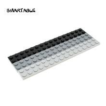 Smartable plate 2x16 строительные блоки детали игрушки для детей