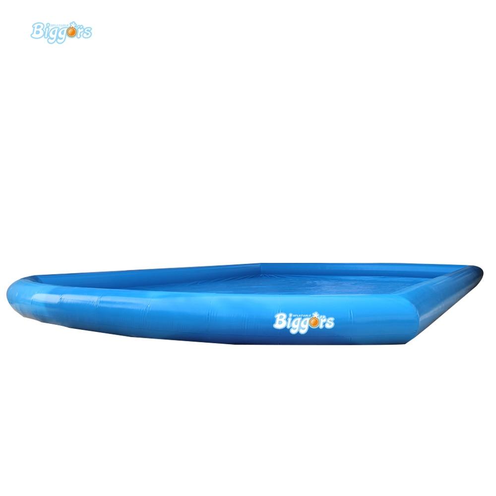Inflatable Biggors Custom Shape Inflatable Swimming Pool For Playing