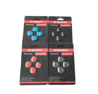 4pcs/lot NS TPU Cap Thumb Stick Joystick Thumb grips Cover Protector For Nintendo Nintend Switch Controller NS Joy-con Skin