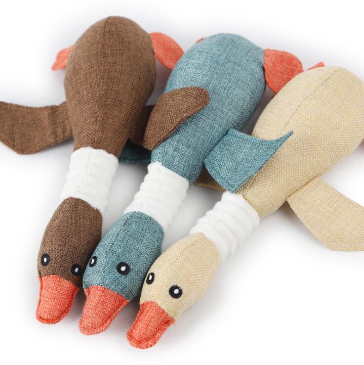 Juguete de ganso para mascotas 4