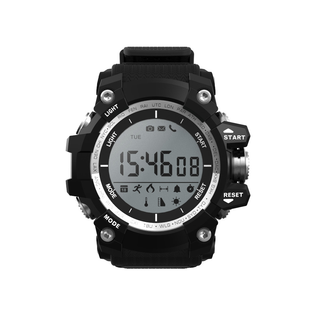 KKTICK F2 SmartWatch IP68 Waterproof sport watch for Outdoor Mode Fitness Tracker Reminder 550mAh battery Wearable Device