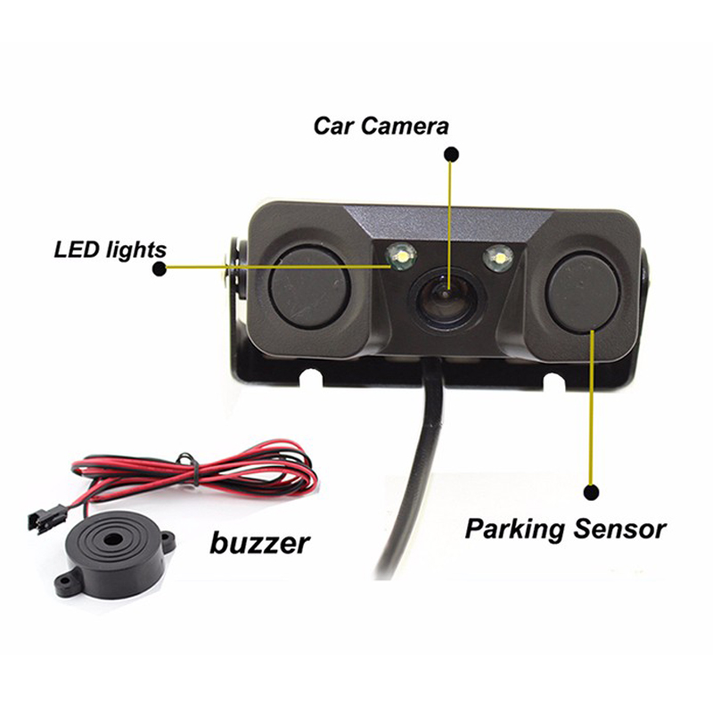 ANLUD PZ451 3 in 1 артқы камерасы бар - Автомобиль электроникасы - фото 4