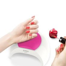 SUN2 UV LED lámpara de inducción Nail 48W Secador de uñas Máquina para curar Gel UV Led Gel Nail Gel Polish Machine sin modo de dolor