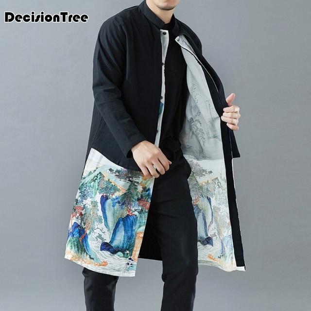 6c7f51104 2019 new mens kimono designer cool japanese clothes swag male streetwear  casual outwear jackets harajuku cardigan