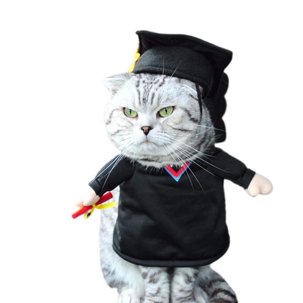 Pet Funny Costume Dog Cat Costume Clothes Dress Apparel Doctor Suit Pet Products Home & Garden
