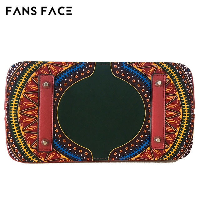 FANS FACE Africa Women Bags Mobile Messenger Ladies Handbag High Quality Luxury Handbags Women Bags Designer Traditional African 4