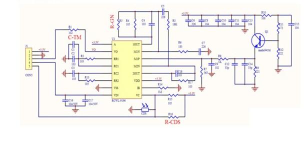 RCWL-0516 schematic