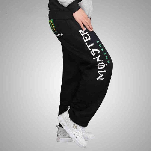 2016 Venda Quente Hip Hop Calças Homem Calças de Dança de Rua Juventude calças Soltas Frete Grátis