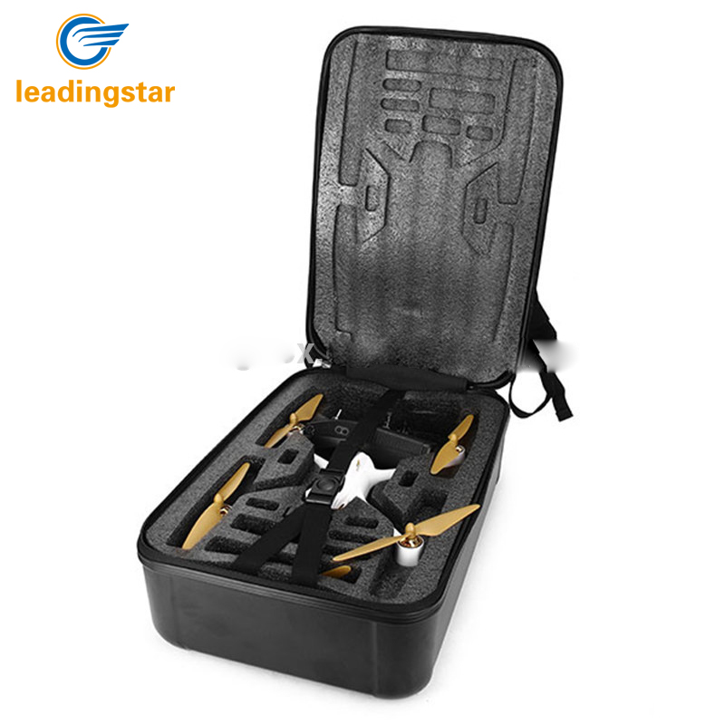 LeadingStar For Hubsan H501S RC Drone Portable Carry Case Backpack Hard Shell Storage Box zk30 free for shipping black abs hard shell backpack case bag for hubsan x4 h501s quadcopter brand new high quality may 2