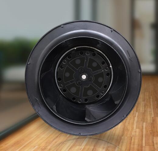 цена на 220V 133mm backward curved silent plastic centrifugal fan with factory price C2E-133.41C ac motor use