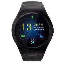 Neueste KS2 Smartwatch Telefon 1,3 zoll Touchscreen MTK2502 64 MB ram 128 mb rom bluetooth 4,0 smart watch für ios und Android
