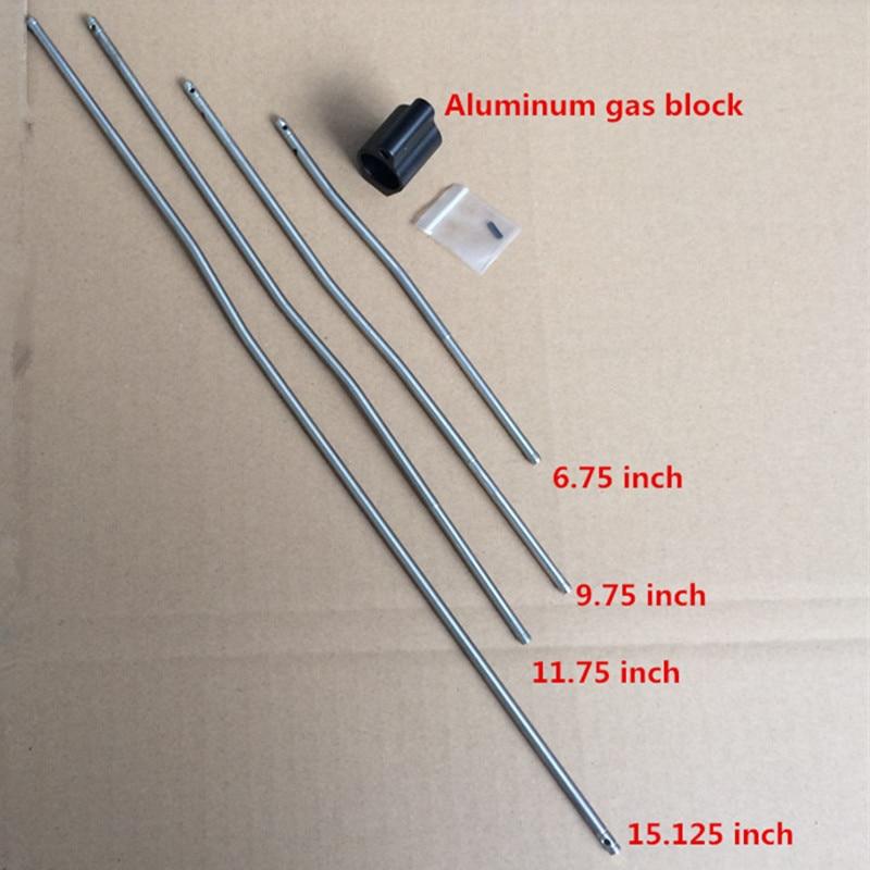 Aluminum Gas Blocks Tactical 0.75 Inch Dia Fit M4 / AR15 Gas Block Micro Rifle Gas Block Roll Pin Hunting Accessories