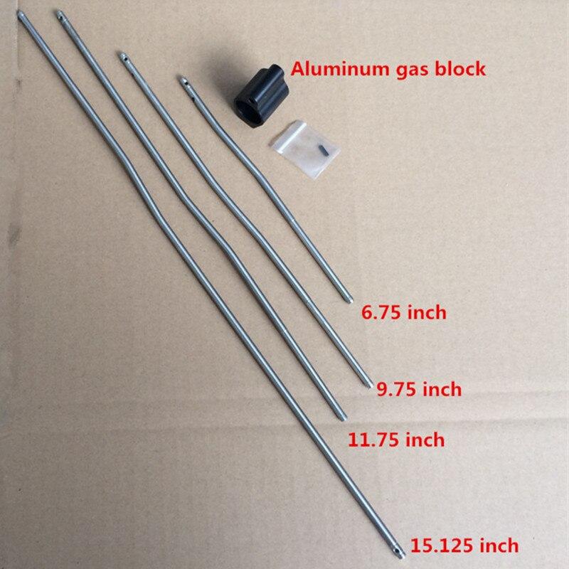 Blocos de Gás de alumínio Tático 0.75 Polegada Dia fit M4/AR15 Bloco De Gás Micro Bloco De Gás Pino do Rolo de Caça Rifle acessórios