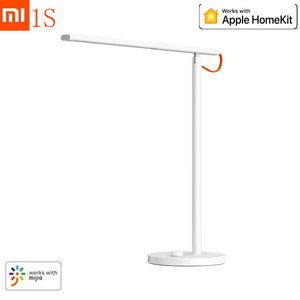 Image 1 - Newest Xiaomi Mijia Smart Remote Control Table Desk Lamp 1S 4 Lighting Modes Dimming Reading Light Lamp With Mijia HomeKit APP