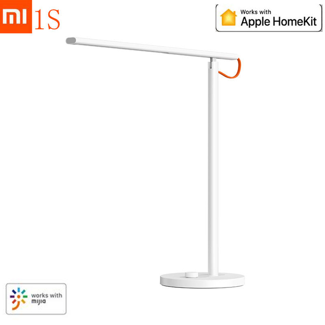 Newest Xiaomi Mijia Smart Remote Control Table Desk Lamp 1S 4 Lighting Modes Dimming Reading Light Lamp With Mijia HomeKit APP